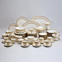 NOCTURNE GOLD - 96PC DINNER SET